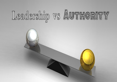 Leadership vs Authority