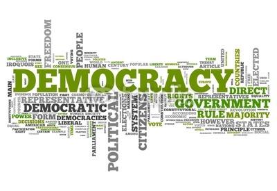 Persuasive essay about democracy